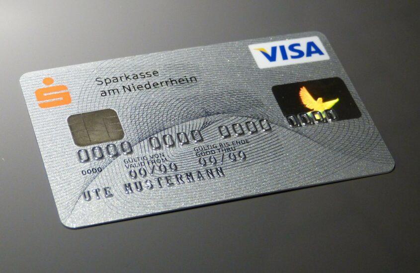 konto w banku, karta płatnicza